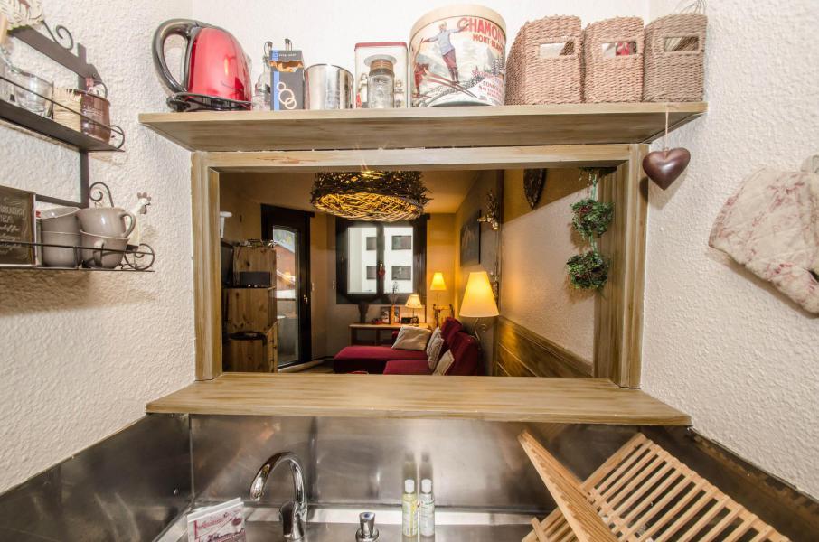 Location au ski Appartement 2 pièces 4 personnes (Canopée) - Résidence les Jonquilles - Chamonix - Cuisine