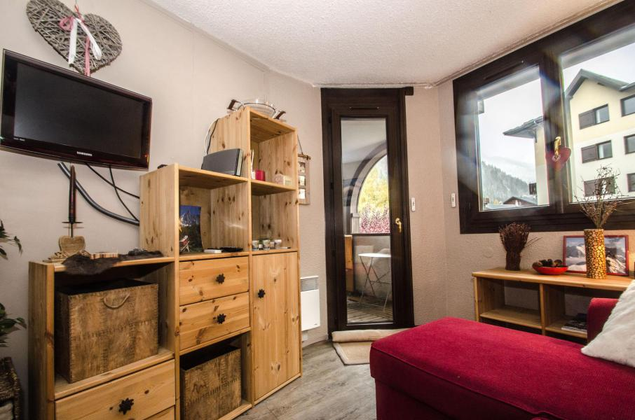 Location au ski Appartement 2 pièces 4 personnes (Canopée) - Résidence les Jonquilles - Chamonix - Séjour
