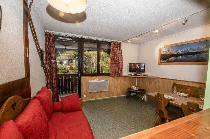 Location au ski Appartement 2 pièces 4 personnes (Charmoz) - Résidence les Jonquilles - Chamonix - Séjour