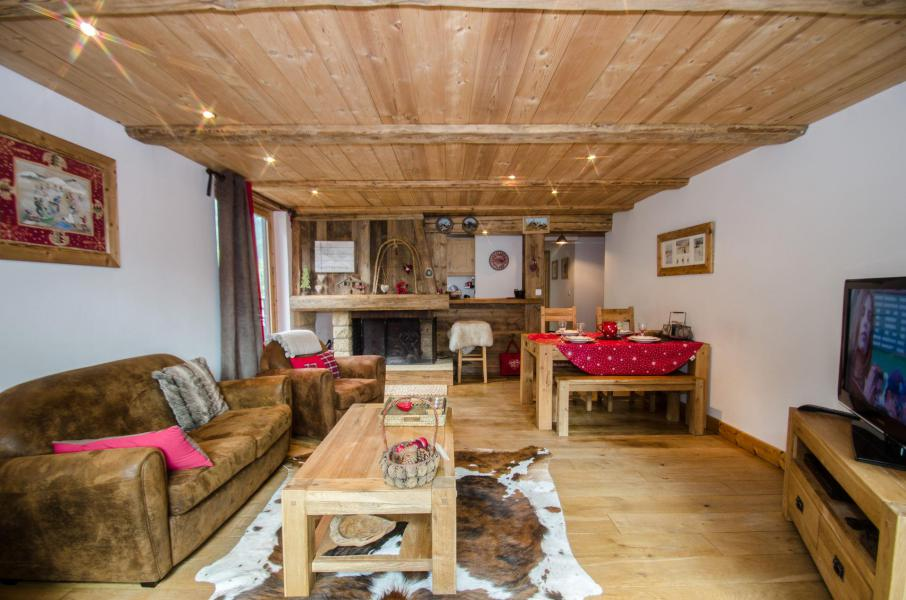 Rent in ski resort 3 room apartment 5 people - Résidence Lyret 1 - Chamonix - Living room