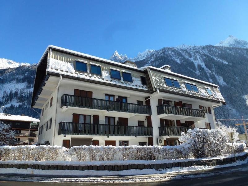 Location au ski Résidence Lyret 1 - Chamonix - Extérieur hiver