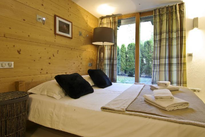 Location au ski Appartement 3 pièces mezzanine 4 personnes - Residence Mermille - Chamonix - Séjour