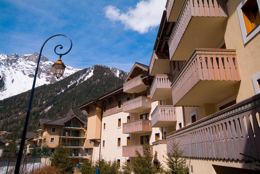 Location au ski Residence P&v Premium La Ginabelle - Chamonix - Extérieur hiver