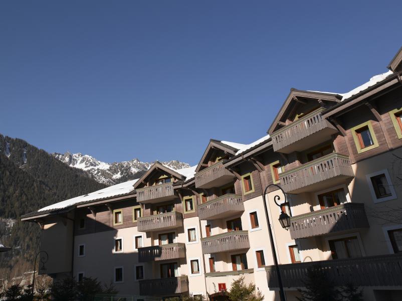 Vakantie in de bergen Résidence P&V Premium la Ginabelle - Chamonix - Buiten winter