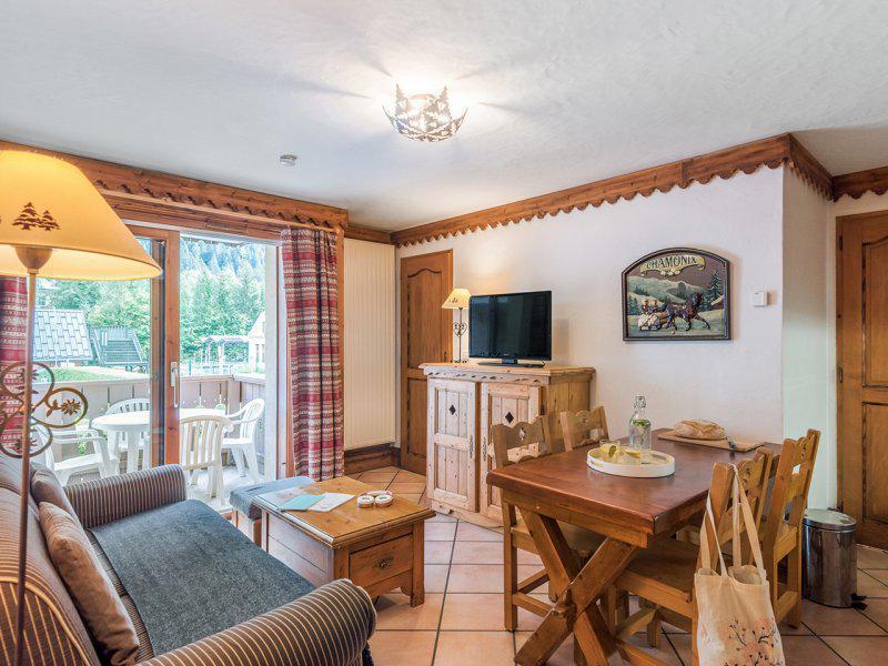 Rent in ski resort 2 room apartment 2-4 people - Résidence P&V Premium la Ginabelle - Chamonix
