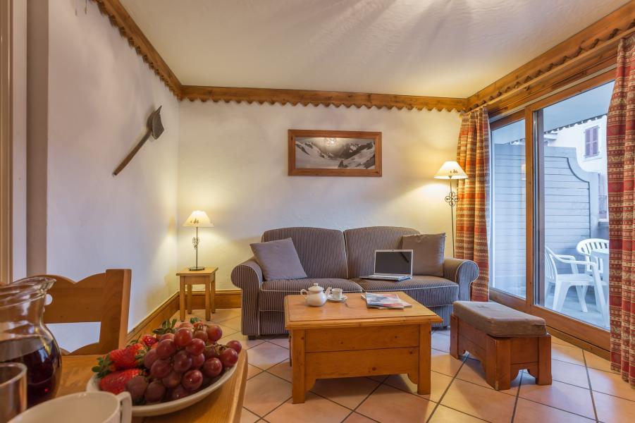 Location au ski Résidence P&V Premium la Ginabelle - Chamonix - Coin séjour