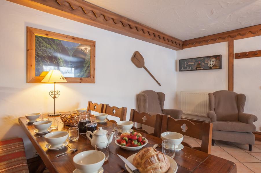 Location au ski Residence P&v Premium La Ginabelle - Chamonix - Salle à manger