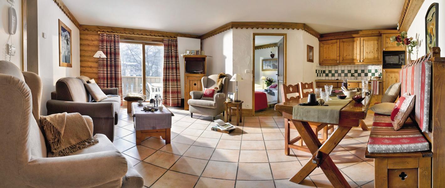Location au ski Résidence P&V Premium la Ginabelle - Chamonix - Séjour