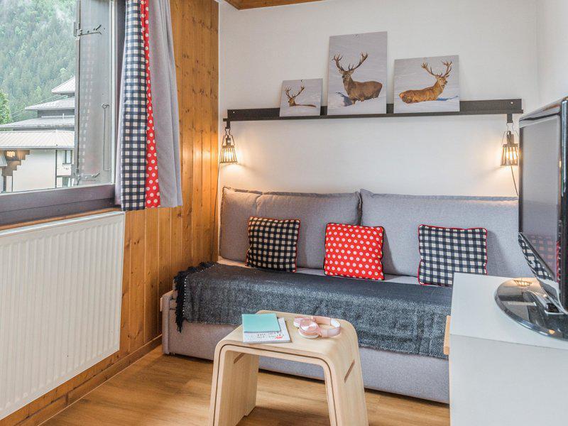 Аренда на лыжном курорте Апартаменты 2 комнат 4 чел. - Résidence Pierre et Vacances la Rivière-Aiglons - Chamonix