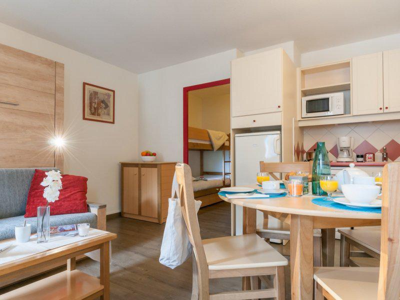 Аренда на лыжном курорте Квартира студия для 4 чел. - Résidence Pierre et Vacances la Rivière-Aiglons - Chamonix