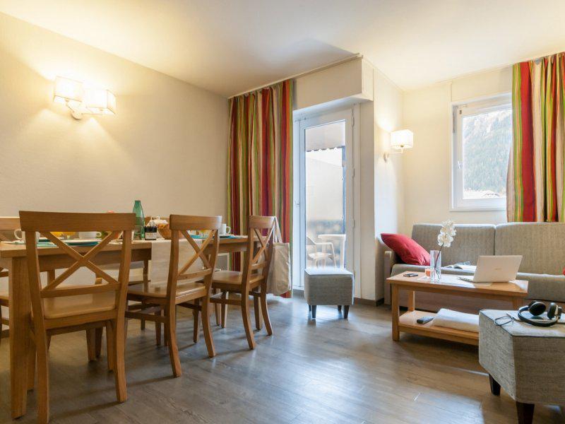 Rent in ski resort 2 room apartment cabin 6 people - Résidence Pierre et Vacances la Rivière-Aiglons - Chamonix