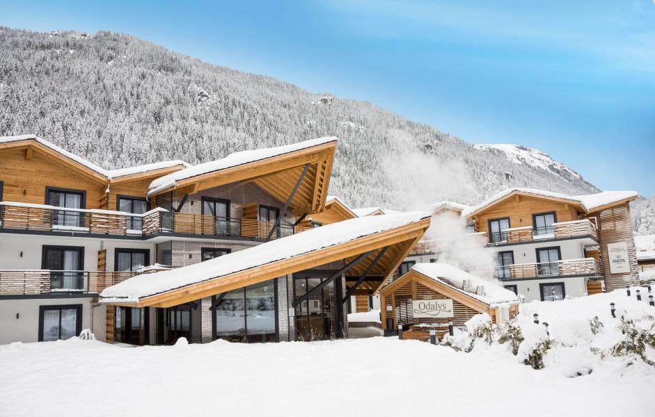 Location au ski Résidence Prestige Isatis - Chamonix - Extérieur hiver