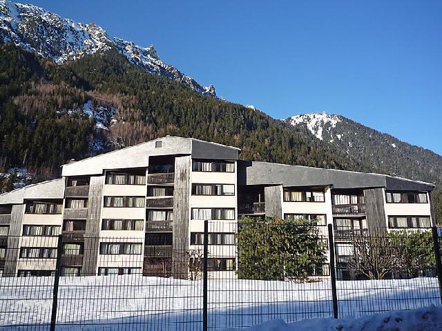Holiday in mountain resort 0 room apartment 0 people (1) - Sun Valley - Chamonix - Winter outside