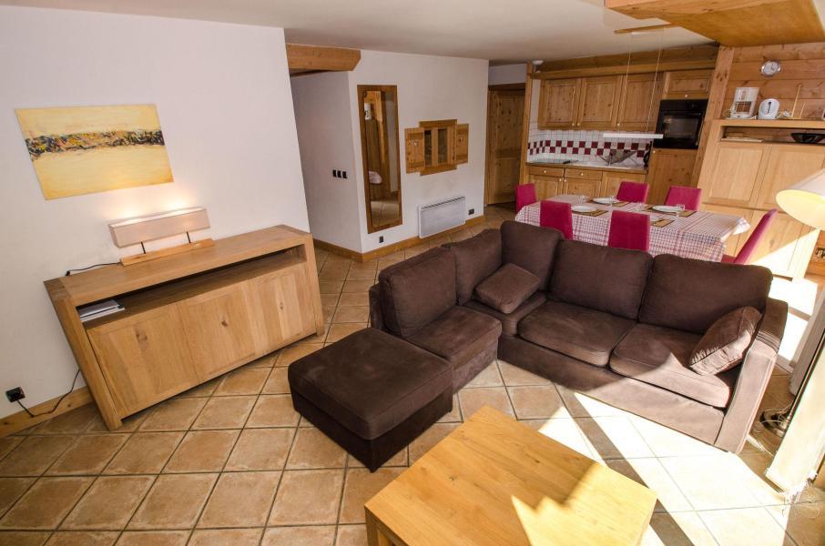 Location au ski Appartement 4 pièces coin montagne 8 personnes - Villa Princesse - Chamonix - Séjour