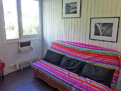 Rent in ski resort 1 room apartment 2 people (3) - Arve 1 et 2 - Chamonix - Apartment