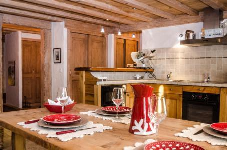 Location au ski Appartement 5 pièces 8 personnes - Chalet Ambre - Chamonix - Cuisine