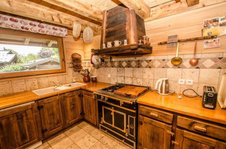 Location au ski Chalet 5 pièces 8 personnes - Chalet Eole - Chamonix - Cuisine