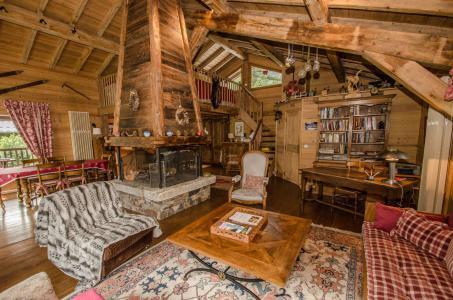 Location au ski Chalet 5 pièces 8 personnes - Chalet Eole - Chamonix - Séjour