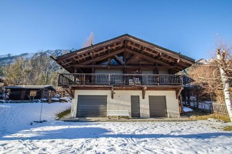 Location au ski Chalet 6 pièces 8 personnes - Chalet Eole - Chamonix - Extérieur hiver