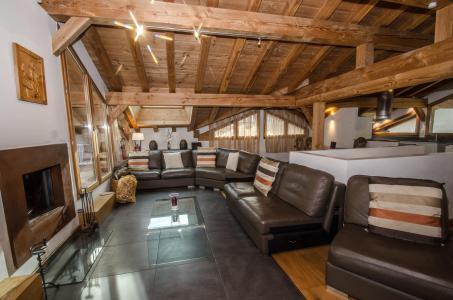 Location au ski Chalet 5 pièces 8 personnes - Chalet Gaia - Chamonix - Séjour