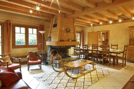 Location au ski Chalet 8 pièces 12 personnes - Chalet La Perseverance - Chamonix - Séjour