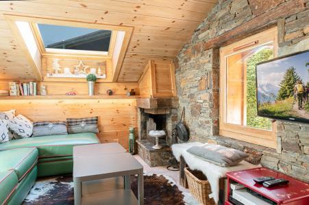 Location au ski Appartement 3 pièces 4 personnes (PIC) - Chalet le Col du Dôme - Chamonix - Séjour