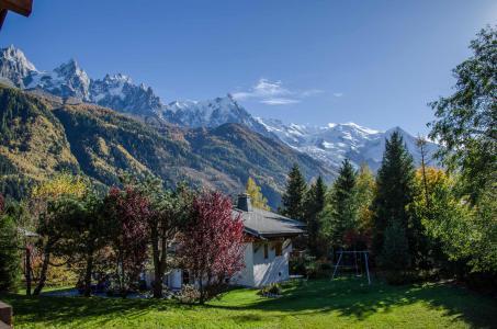 Rent in ski resort Chalet le Tilleul - Chamonix