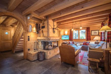 Location au ski Chalet 6 pièces 8 personnes - Chalet Macha - Chamonix - Séjour