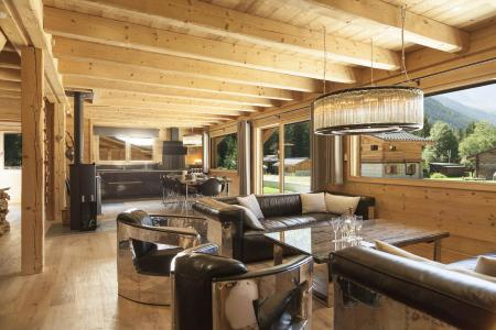 Rent in ski resort 6 room duplex chalet 10 people (Marius) - Chalet Marius - Chamonix - Apartment