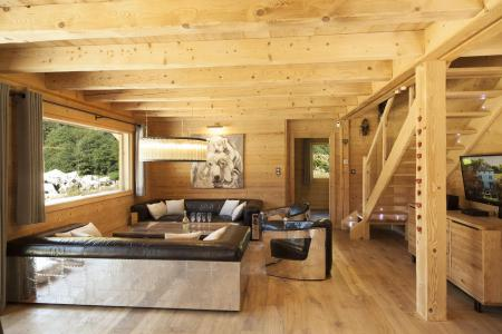 Rent in ski resort 6 room duplex chalet 10 people (Marius) - Chalet Marius - Chamonix - Bench seat