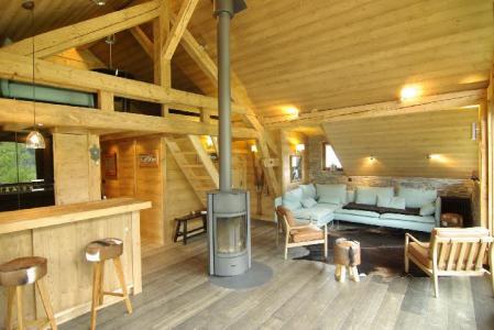 Location au ski Appartement 3 pièces cabine mezzanine 8 personnes - Chalet Maya - Chamonix - Séjour
