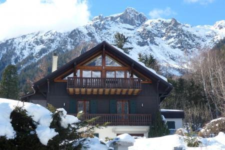 Location au ski Appartement 3 pièces cabine mezzanine 8 personnes - Chalet Maya - Chamonix - Extérieur hiver