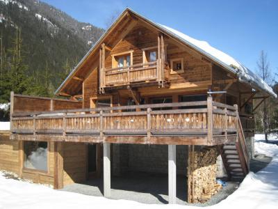 Location au ski Chalet Peyrlaz - Chamonix - Extérieur hiver