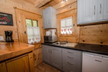 Location au ski Appartement duplex 2 pièces 3 personnes - Chalet Sépia - Chamonix - Salle d'eau