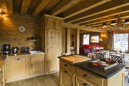 Location au ski Chalet 5 pièces 7 personnes - Chalet Serac - Chamonix - Cuisine