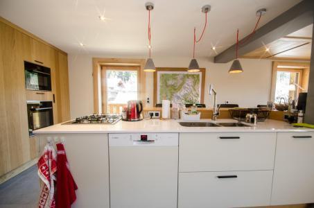 Rent in ski resort 6 room triplex chalet 10 people (SIXTINE) - Chalet Sixtine - Chamonix
