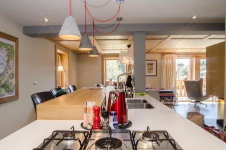 Rent in ski resort 6 room triplex chalet 10 people (SIXTINE) - Chalet Sixtine - Chamonix - Kitchen
