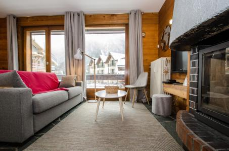Rent in ski resort 2 room apartment 4 people (FEDORA) - Flegere et Golf - Chamonix - Settee
