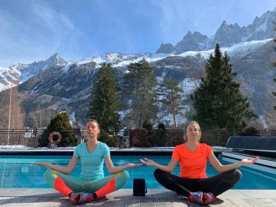 Rent in ski resort Folie Douce Hôtel - Chamonix - Winter outside