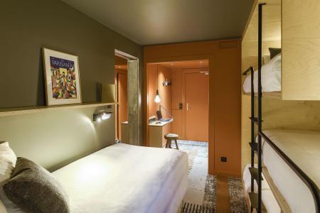 Rent in ski resort Folie Douce Hôtel - Chamonix - Bunk beds