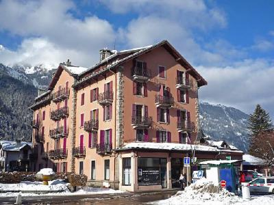 Rent in ski resort 2 room apartment 4 people (3) - L'Univers - Chamonix - Winter outside