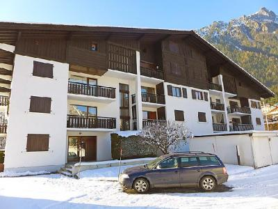 Rent in ski resort 1 room apartment 4 people (1) - Le Miage - Chamonix - Winter outside