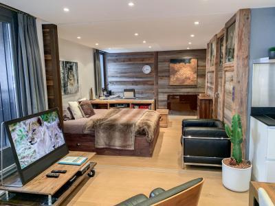 Rent in ski resort 1 room apartment 2 people (10) - Le Mummery - Chamonix