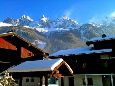 Rent in ski resort 1 room apartment 2 people (2) - Les Jardins du Mont-Blanc - Chamonix - Winter outside