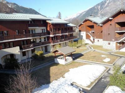 Rent in ski resort 1 room apartment 4 people (4) - Les Jardins du Mont-Blanc - Chamonix - Winter outside