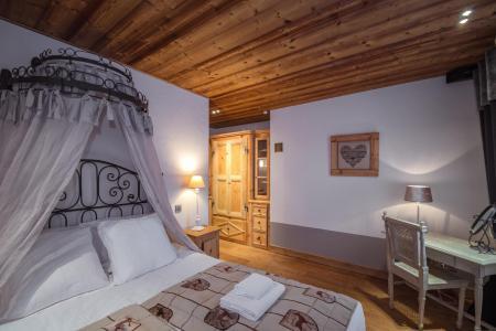 Rent in ski resort 7 room cottage 8 people - Maison Alpie - Chamonix - Double bed