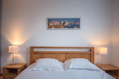 Location au ski Appartement 2 pièces 4 personnes (rose) - Résidence Androsace - Chamonix - Chambre