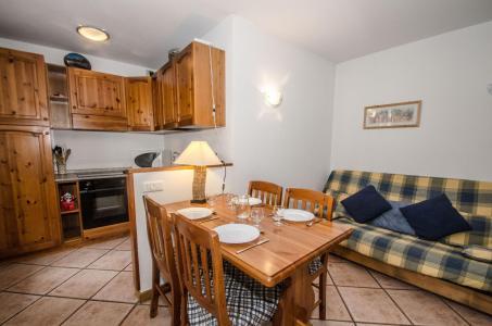 Location au ski Appartement 2 pièces 4 personnes (rose) - Residence Androsace - Chamonix - Séjour