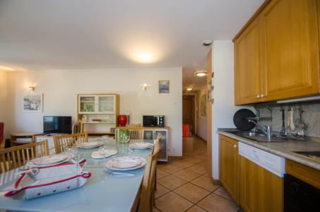 Location au ski Appartement 3 pièces 6 personnes (AMIJEAN) - Résidence Androsace - Chamonix - Cuisine