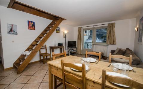 Location au ski Appartement duplex 4 pièces 6 personnes - Résidence Androsace - Chamonix - Séjour